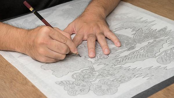 「琉球びんがた」現代様式の確立の写真